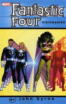 FANTASTIC FOUR VISIONARIES JOHN BYRNE VOL 6 TP