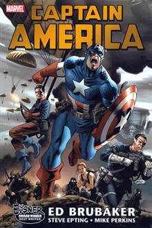 CAPTAIN AMERICA BY ED BRUBAKER OMNIBUS VOL 1 HC