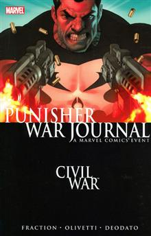 PUNISHER WAR JOURNAL VOL 1 CIVIL WAR TP