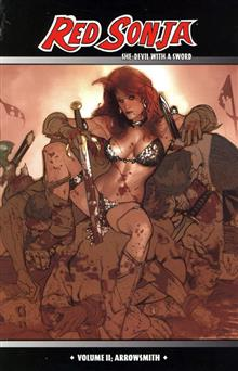 RED SONJA VOL 2 ARROWSMITH ADAM HUGHES CVR TP