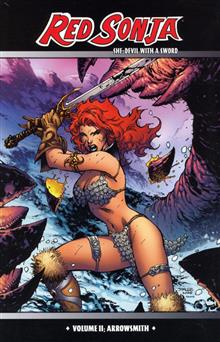 RED SONJA VOL 2 ARROWSMITH JIM LEE CVR PX TP