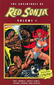 ADVENTURES OF RED SONJA VOL 1 TP (NEW ED)