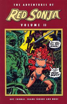 ADVENTURES OF RED SONJA VOL 2 SHE DEVIL WITH SWORD (Cover B)