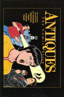 ANTIQUES COLLECTED COMIC STRIP HC