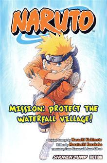 NARUTO MISSION PROTECT WATERFALL NOVEL