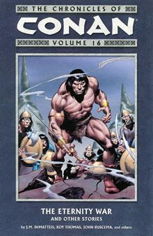 CHRONICLES OF CONAN TP VOL 16 ETERNITY WAR & OTHER