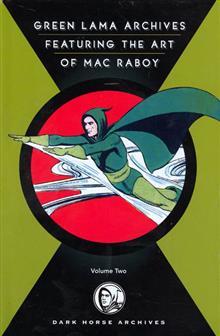 GREEN LAMA FEATURING ART OF MAC RABOY HC VOL 2