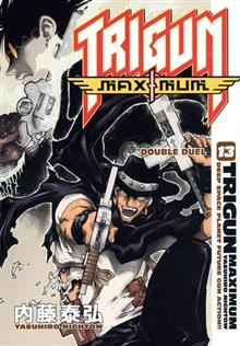 TRIGUN MAXIMUM TP VOL 13 DOUBLE DUEL