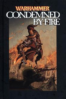 WARHAMMER CONDEMNED BY FIRE LTD HC
