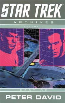 STAR TREK ARCHIVES TP VOL 01 BEST OF PETER DAVID