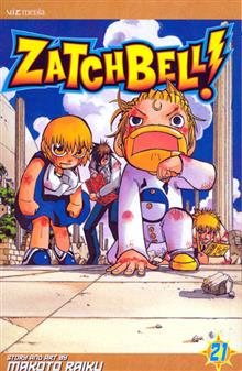 ZATCH BELL GN VOL 21