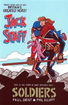 JACK STAFF VOL 2 SOLDIERS TP (NEW PTG)