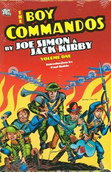 BOY COMMANDOS BY JOE SIMON AND JACK KIRBY HC