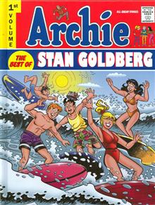 ARCHIE BEST OF STAN GOLDBERG HC VOL 01