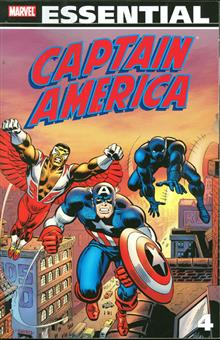 ESSENTIAL CAPTAIN AMERICA TP VOL 04 NEW PTG