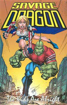 SAVAGE DRAGON KIDS ARE ALRIGHT TP