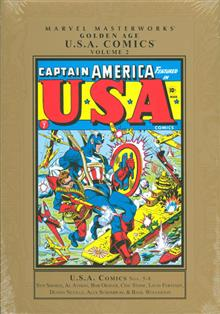 MMW GOLDEN AGE USA COMICS HC VOL 02