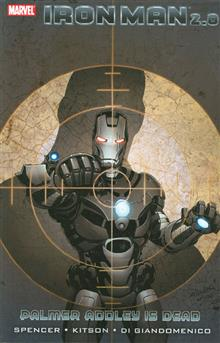 IRON MAN 2.0 TP VOL 01 PALMER ADDLEY IS DEAD