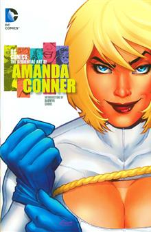 DC COMICS THE SEQUENTIAL ART OF AMANDA CONNER HC