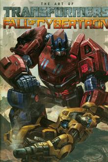 TRANSFORMERS ART OF FALL OF CYBERTRON HC