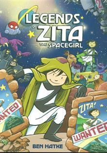 LEGENDS OF ZITA THE SPACEGIRL GN