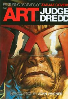 ART OF JUDGE DREDD 35 YEARS ZARJAZ CVRS HC