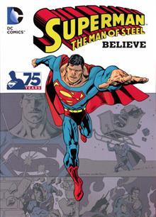 SUPERMAN THE MAN OF STEEL BELIEVE TP DIGEST