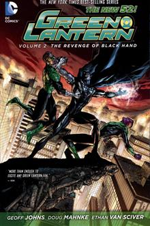 GREEN LANTERN TP VOL 02 REVENGE OF BLACK HAND (N52)
