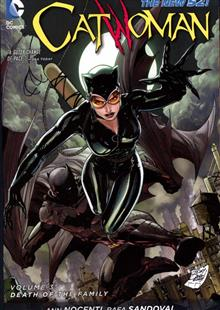 CATWOMAN TP VOL 03 DEATH OF THE FAMILY (N52)