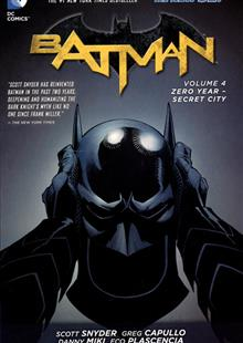 BATMAN TP VOL 04 ZERO YEAR SECRET CITY (N52)