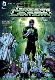 GREEN LANTERN TP VOL 04 DARK DAYS (N52)