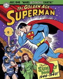 SUPERMAN GOLDEN AGE SUNDAYS 1946-1949 HC