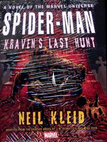 SPIDER-MAN KRAVENS LAST HUNT PROSE NOVEL HC