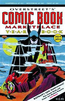 OVERSTREET COMIC BK MARKETPLACE YEARBOOK 2014 BATMAN CVR