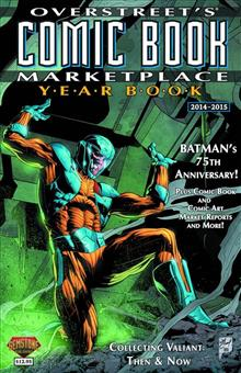 OVERSTREET COMIC BK MARKETPLACE YEARBOOK 2014 X-O MANOWAR CVR