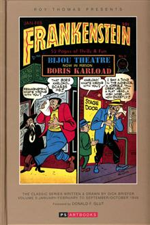 ROY THOMAS PRESENTS BRIEFER FRANKENSTEIN HC VOL 05 1948
