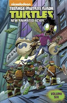 TMNT NEW ANIMATED ADVENTURES TP VOL 06