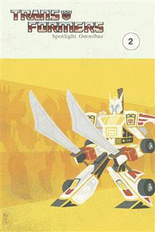 TRANSFORMERS SPOTLIGHT OMNIBUS TP VOL 02