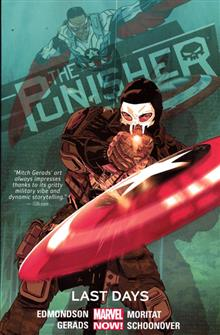 PUNISHER TP VOL 03 LAST DAYS
