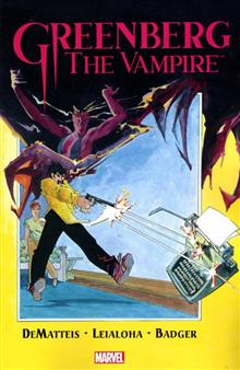 GREENBERG THE VAMPIRE TP (MR)