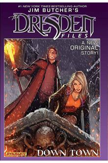 JIM BUTCHER DRESDEN FILES DOWN TOWN HC SGN