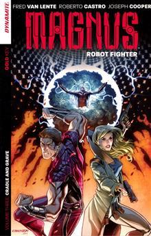 MAGNUS ROBOT FIGHTER TP VOL 03 CRADLE & GRAVE