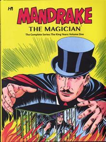MANDRAKE THE MAGICIAN COMP KING YEARS HC VOL 01