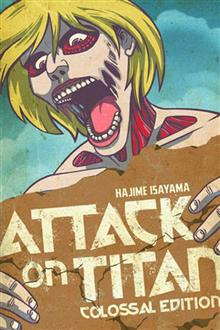 ATTACK ON TITAN COLOSSAL ED TP VOL 02