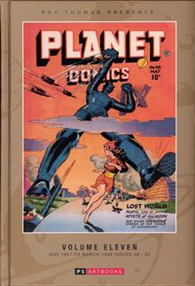 ROY THOMAS PRESENTS PLANET COMICS HC VOL 11