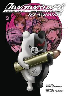 DANGANRONPA THE ANIMATION TP VOL 03