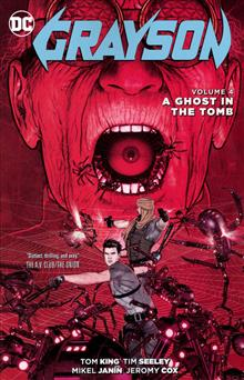 GRAYSON TP VOL 04 A GHOST IN THE TOMB
