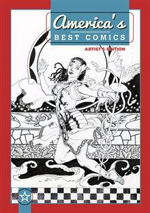 AMERICAS BEST COMICS ARTIST ED HC J.H. WILLIAMS III VAR