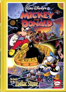 MICKEY & DONALD HC SEARCH FOR ZODIAC STONE