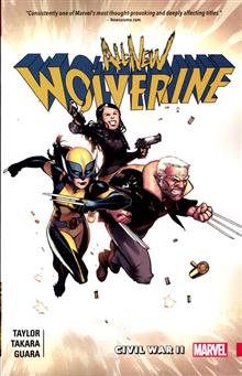 ALL NEW WOLVERINE TP VOL 02 CIVIL WAR II